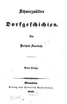 Schwarzw  lder Dorfgeschichten PDF