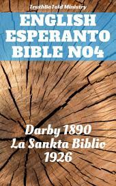 English Esperanto Bible No4: Darby 1890 - La Sankta Biblio 1926