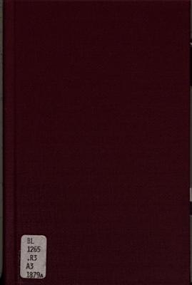A Lecture on the Life and Labours of Rammohan Roy PDF