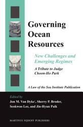 Governing Ocean Resources Book PDF