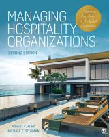 Managing Hospitality Organizations PDF