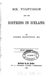 Mr. Vigfusson and the distress in Iceland: Volume 2