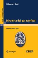 Dinamica dei gas rarefatti PDF