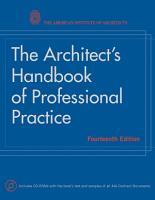 The Architect s Handbook of Professional Practice PDF