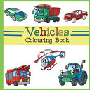 Vehicles Colouring Book