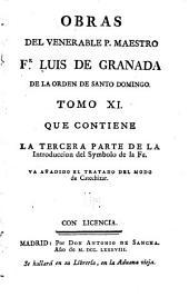 Obras del venerable p. maestro fr. Luis de Granada ...