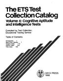 The ETS Test Collection Catalog PDF
