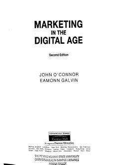 Marketing in the Digital Age PDF