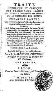 Traite Historique et Critique des Principaux Signes
