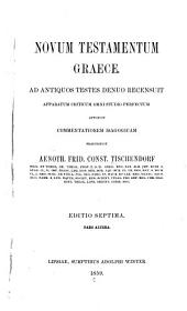 Novum Testamentum graece: Τόμος 2