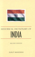 Historical Dictionary of India PDF