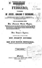 Febrero, o Libreria de jueces, abogados y escribanos, comprensiva de los códigos civil, criminal y administrativo, tanto en la parte teórica como en la práctica, con arreglo en un todo a la legislación hoy vigente: Volumen 10