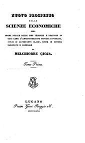 Nuovo prospetto delle scienze economiche: Volume 1