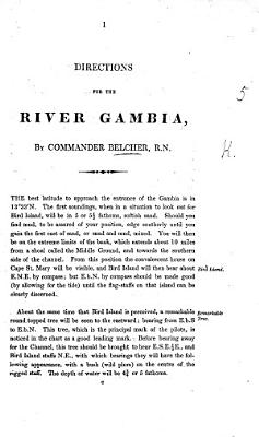 Directions for the River Gambia   The West Coast of Africa  from the Isles de Los to Sierra Leone  By Commander Thos  Boteler    PDF