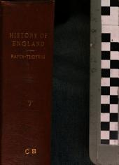 The history of England: as well ecclesiastical as civil, Volume 7