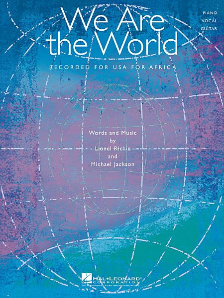 Download We Are the World Sheet Music Book