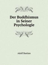 Der Buddhismus in Seiner Psychologie: Band 25