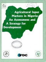 Agricultural Input Markets in Nigeria PDF