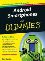Android Smartphones f  r Dummies PDF