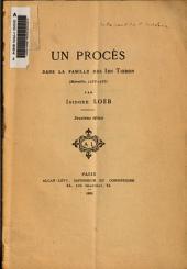 Un procès dans la famille des Ibn Tibbon, Marseille, 1255-1256