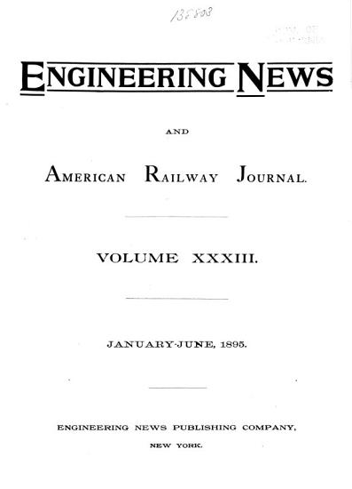 Engineering News and American Railway Journal PDF