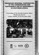 Enhancing Regional Cooperation In The Conservation And Sustainable Use Of Biodiversity In Southern Africa Book PDF