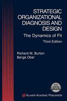 Strategic Organizational Diagnosis and Design PDF