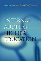 Internal Audit in Higher Education