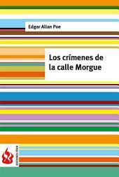 Los crímenes de la calle Morgue (low cost). Edición limitada
