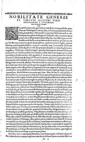 Adagia, id est: proverbiorum, paroemiarum et parabolarum omnium, quae apud Graecos, Latinos, Hebraeos, Arabas, &c. in usu fuerunt, collectio absolutissima in locos communes digesta