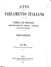 Atti parlamentari: Volume 3