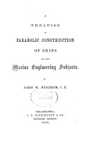 A Treatise on Parabolic Construction of Ships and Other Marine Engineering Subjects PDF
