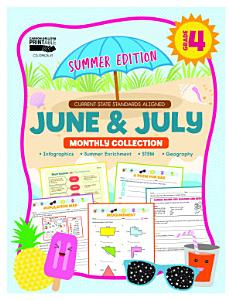 June   July Monthly Collection  Grade 4 Book