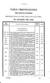 Bulletin des lois de la Republique Francaise: Volume11;Volume1831;Volume1836;Volume1870