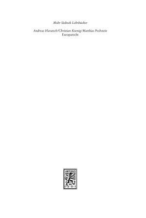 Europarecht PDF