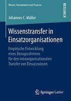 Wissenstransfer in Einsatzorganisationen PDF