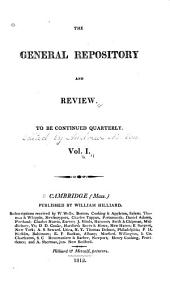 The General Repository: Volume 1