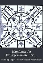 Handbuch der Kunstgeschichte: Das Mittelalter
