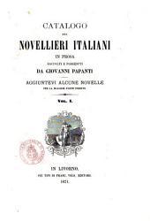 Catalogo dei novellieri italiani in prosa raccolti e posseduti da Giovanni Papanti: 1