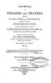 Journal of Voyages and Travels by the Rev. Daniel Tyerman and George Bennet, Esq: Deputed from the London Missionary Society, to Visit Their Various Stations in the South Sea Islands, China, India, &c. Between the Years 1821 and 1829, Volume 2