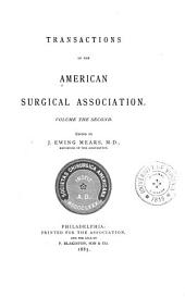Transactions of the American Surgical Association: Volume 2