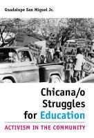 Chicana o Struggles for Education PDF