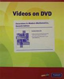 Videos on DVD with Optional Subtitles for Excursions in Modern Mathematics PDF