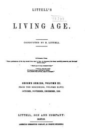The Living Age ...: Volume 47