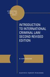 Introduction To International Criminal Law Book PDF