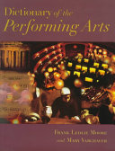 Dictionary of the Performing Arts PDF