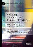 Managing Chinese African Business Interactions PDF