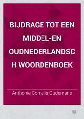 Bijdrage tot een Middel-en Oudnederlandsch woordenboek: Volume 7