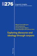 Exploring Discourse and Ideology Through Corpora PDF