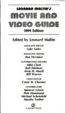 Leonard Maltin s Movie and Video Guide 1994 PDF